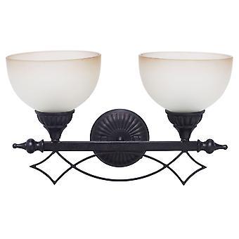 Glasberg - luce marrone doppia parete con vetro Beige 382020402