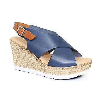 Lunar Barcelona läder inklämd sandal CLEARANCE