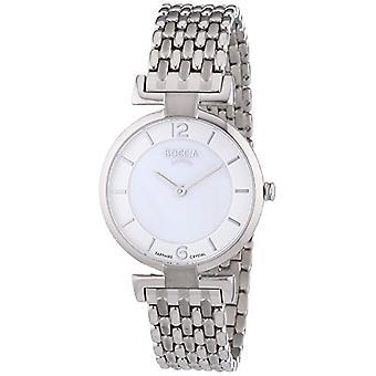 Boccia Ladies titanium 17137/strap Quartz Watch P29GO