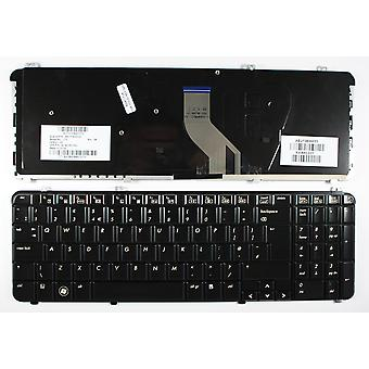 HP 530580-031 kiiltävä musta UK layout korvaaminen Laptop Keyboard