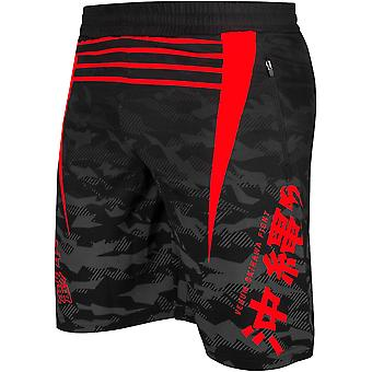 Venum Okinawa 2.0 Training Shorts - Black/Red