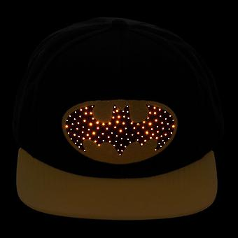 Batman Fiber Optic logo SnapBack Cap
