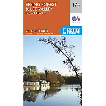 Epping Forest & Lee Valley (September 2015 ed) by Ordnance Survey - 9