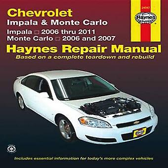 Chevrolet Impala & Monte Carto by John Haynes - 9781563929670 Book