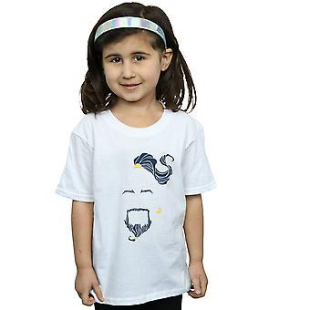 Disney Girls Aladdin Movie Genie camiseta azul cara