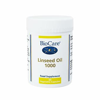 BioCare Linseed Oil 1000 Vegicaps 60 (30460)
