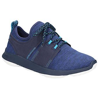Hush Puppies Womens Geo BounceMax Lace Up Trainer