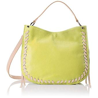 Chicca Bags 8701 Yellow Pink shoulder bag 35x28x12 cm (W x H x L)