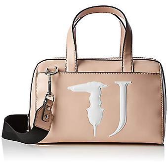 Trussardi Jeans T-Easy Bauletto Monocolor Woman Pink Hand Bag (Light Pink) 30x20x16 cm (W x H x L)