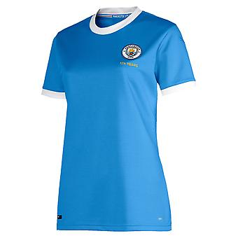 Puma Manchester City 125 Year Anniversary Womens Football Shirt Blue