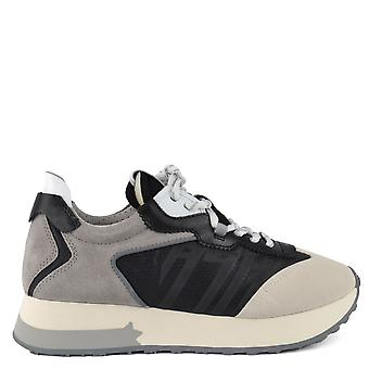 Ash Footwear Tiger Grey And Black Trainer