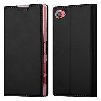 Custodia Cadorabo per Sony Xperia - 5 COMPACT Case Cover - Custodia per telefono con chiusura magnetica, funzione Stand e custodia per scheda - Case Cover Case Case Case Folding Style