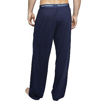 Cyberjammies 6404 menn ' s Harper Navy Blue Cotton Pyjama pant