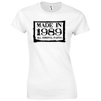 30th Birthday Gifts for Women Her Made In 1989 T-Shirt