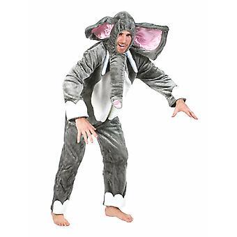 Elefant Zoo Herrenkostüm Dickhäuter Herren Kostüm