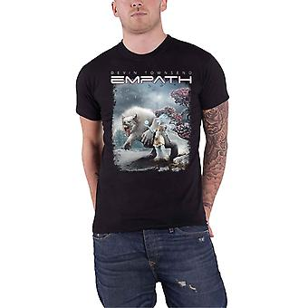 Devin Townsend T Shirt Empath Ice Queen Band Logo new Official Mens Black