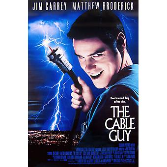 Cable Guy (Double Sided Regular) (Uv Coated/High Gloss) Original Cinema Poster