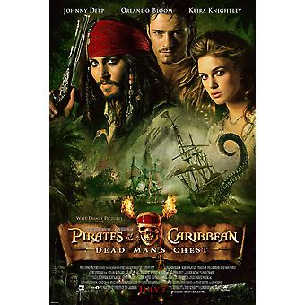 Pirates Of The Caribbean: Dead Man-apos;s Chest (Double Sided Regular) Original Cinema Poster