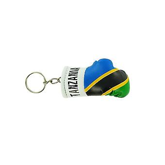 Cle Cles Key Flag Tanzania Boxing Glove Flag
