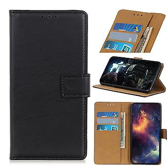 Motorola Moto E6 plus Wallet Case zwart
