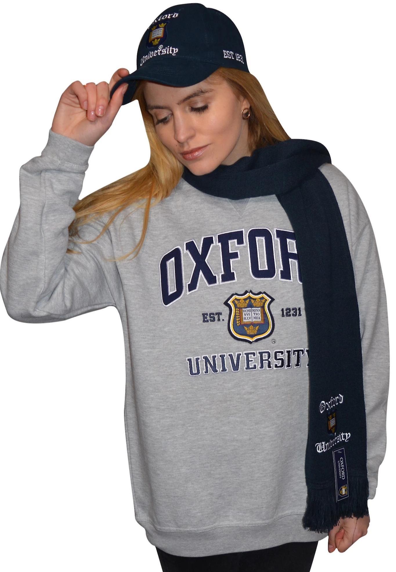 Licensed oxford university™ scarf navy
