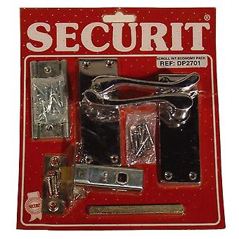 Securit Chrome Scroll Internal Pack