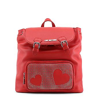 Love moschino women's backpack red jc4108pp16lt