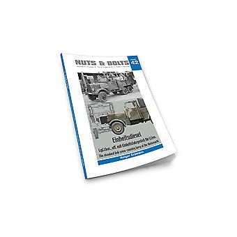 Book - Aircraft & Models Nuts & Bolts 42 Einheitsdiesel Soft Back Book