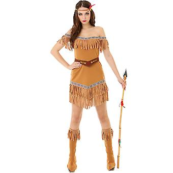 Hide Huntress Disfraz adulto, S