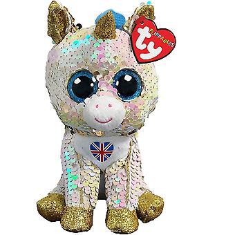 Ty Beanie Boos Flippables Royal Unicorn 15cm Toy