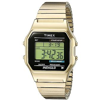 Timex Mens Style Watch - Gold (Model No. T78677)