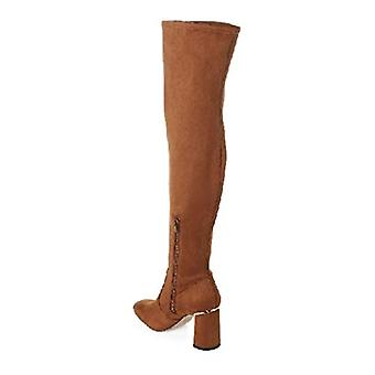 BCBGeneration Women's Aliana Over The Knee Boot, Chocolate Microsuede, 6.5 M