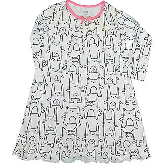 Nightgown with cats, 98/104