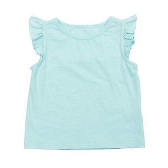 Lily Balou Eline Top Slub Jersey Sky Blue