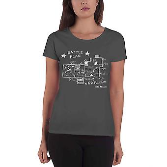 Home Alone T Shirt Battle Plan Kevin Movie Logonew Official Womens Skinny Fit