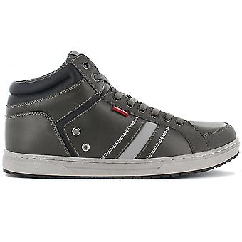 Levis Dull Grey 227511-1794-58 Men's Shoes Grey Sneakers Sports Shoes