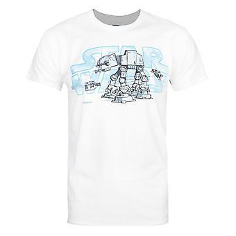 スター・ウォーズ エンパイア スチール ウォーカー メン&アポス;s Tシャツ