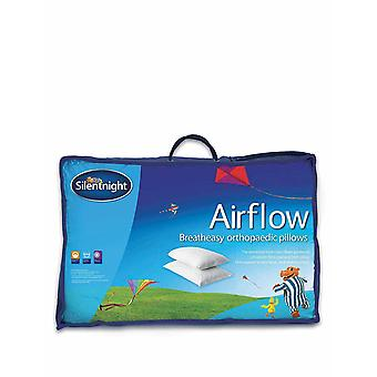 Silentnight Silentnight Airflow Support Pillow, Pack of 2 - Medium