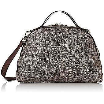Bourbon Sexy Bag Medium C/t Brown Women's Handbag (Op Classico/Brown) 36x24x16 cm (W x H x L)