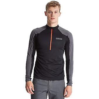 OMM Hommes Vector Half Zip Long Sleeve Running Top