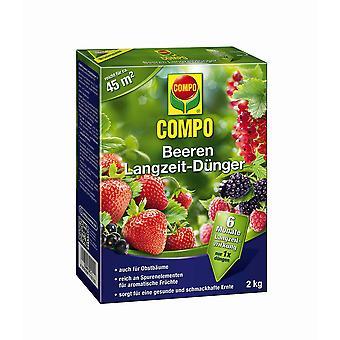 COMPO Berries Long-term fertilizer, 2 kg