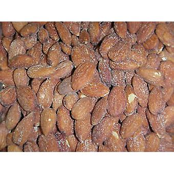 Almonds Unblanched Roasted -with Salt -( 24.95lb Almonds Unblanched Roasted With Salt)