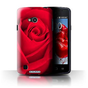 STUFF4 Case/Cover for LG L50/D213/Red/Rose