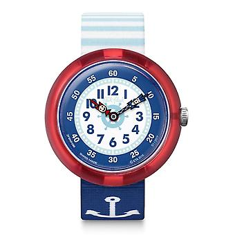 Flik Flak Watches Fbnp090 Matrose Textile Watch