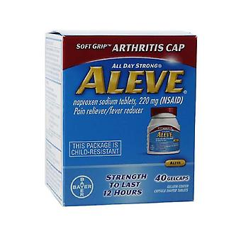 Aleve pain reliever/fever reducer, gelcaps, 40 ea