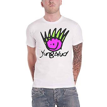YungBlud T Shirt be Happy Face Logo new Official Mens White
