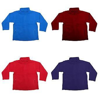 Jerzees Schoolgear Childrens/Kids Unisex 1/4 Zip Outdoor Fleece Top