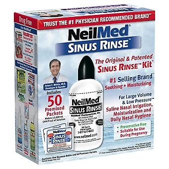 Neilmed pharmaceuticals original sinus rinse kit packets, 50 ea