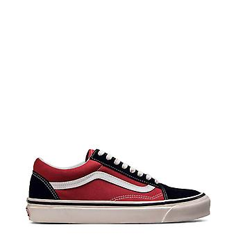 Vans Original Unisex Året Sneakers - Röd Färg 41161