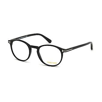 Tom Ford TF5294 001 skinnende sorte briller